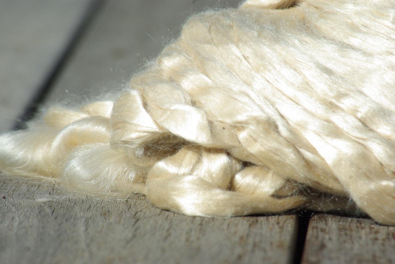 Silk Rovings – Tussah Silk