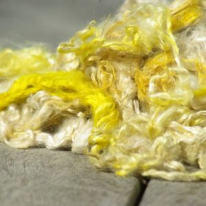 Hand-dyed Suri Locks – Sunshine
