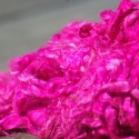 Hand-dyed Suri Locks – Hot Pink