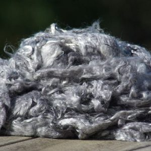 Hand-dyed Suri Locks – Silver
