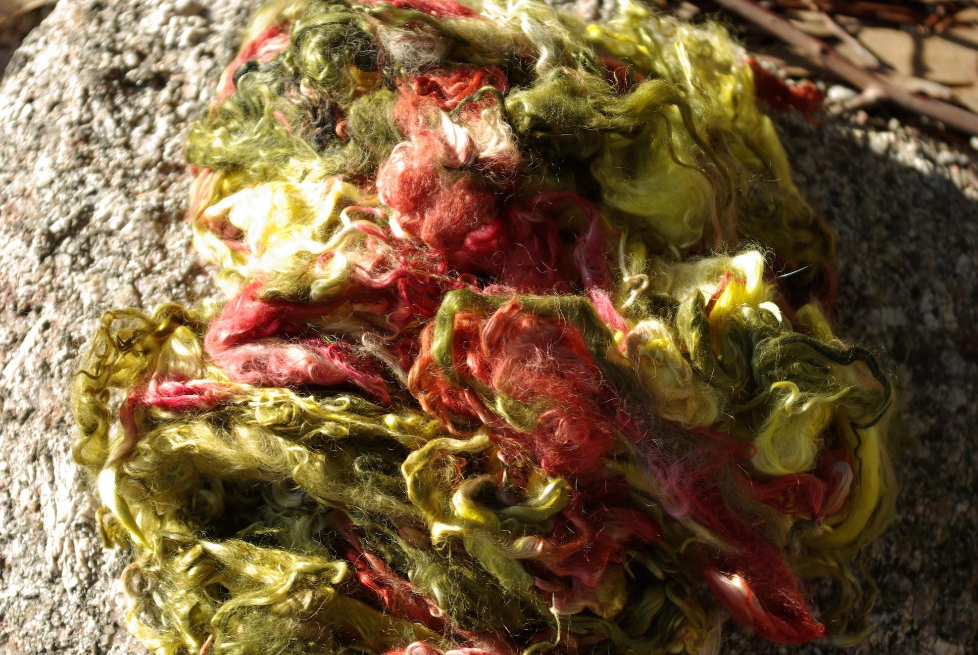 Hand-dyed Suri Locks – Kings Canyon