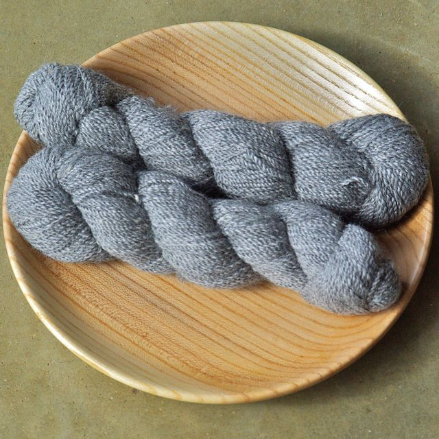 Boutique Mill Suri Yarn – Silver