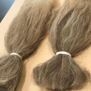 Combed Doll's Hair –  Taupe – Fine