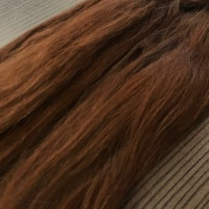 Combed Doll's Hair – Long Medium Brown – Fine