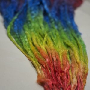 Doll's Hair – Extra-Long Rainbow Dyed Suri Locks