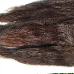 Combed Doll's Hair – Mahogany – Robust