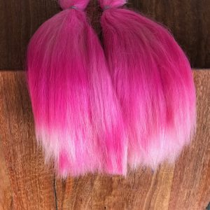 Combed Doll's Hair – Dyed Hot Pink – Robust