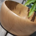 Hand crafted wooden bowl – Pearwood