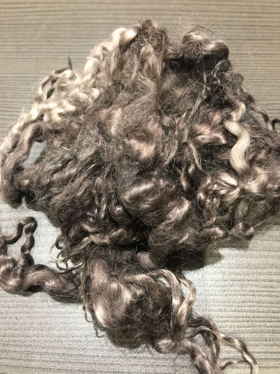 Hand-dyed Suri Locks – Wombat
