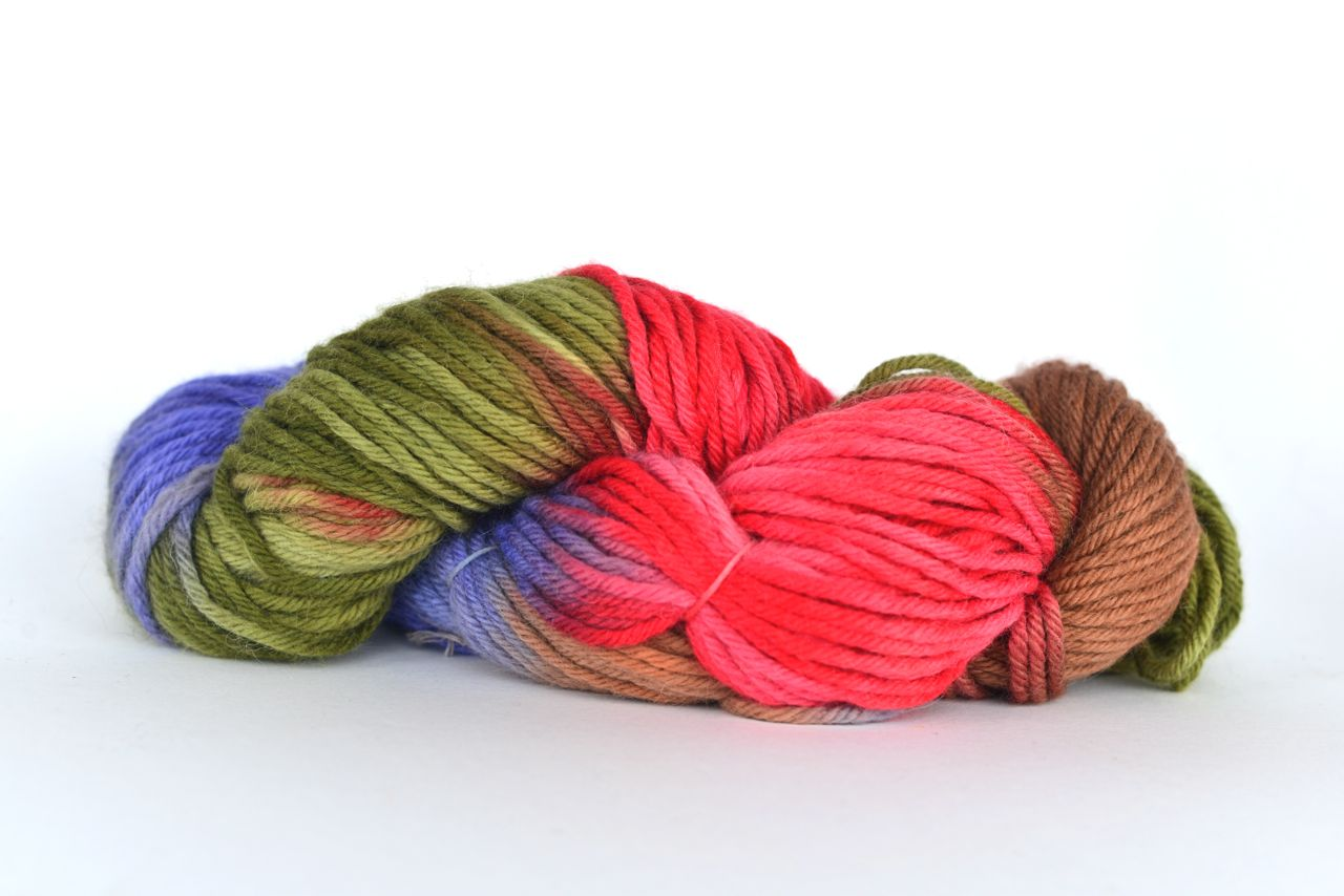 Hand Dyed Alpaca Blend Yarn – Rosella