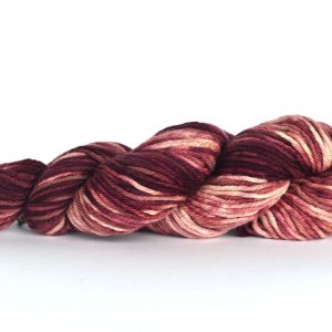 Hand Dyed Alpaca Blend Yarn – Dark Oxblood