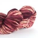 Hand Dyed Alpaca Blend Yarn – Dark Oxblood