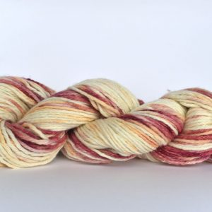 Hand Dyed Alpaca Blend Yarn – Light Oxblood
