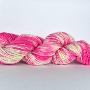 Hand Dyed Alpaca Blend Yarn – Pink