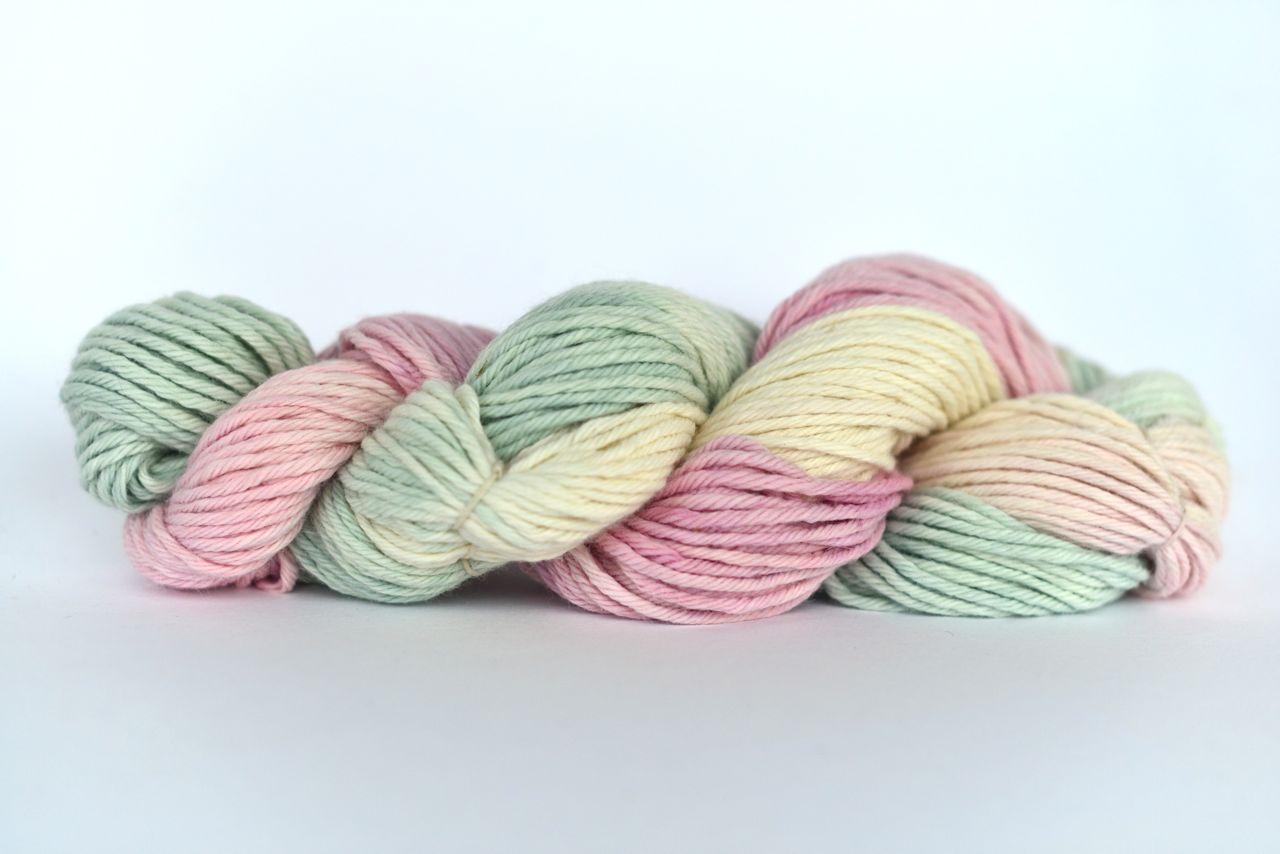 Hand Dyed (Natural Dyes) Alpaca Blend Yarn – Flowering Sage