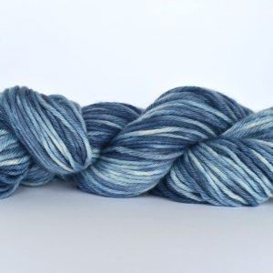 Hand Dyed Alpaca Blend Yarn – Stonewash Denim