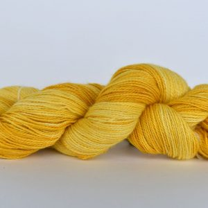 Hand Dyed Bamboo/Alpaca Blend Yarn – Yellow Peril