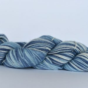 Hand Dyed Bamboo/Alpaca Blend Yarn – Stonewash Denim