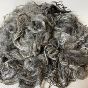 Raw Suri Fleece –  Silver Grey Baby Fine