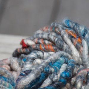 Super Chunky Yarn – Greys/Blue/Orange