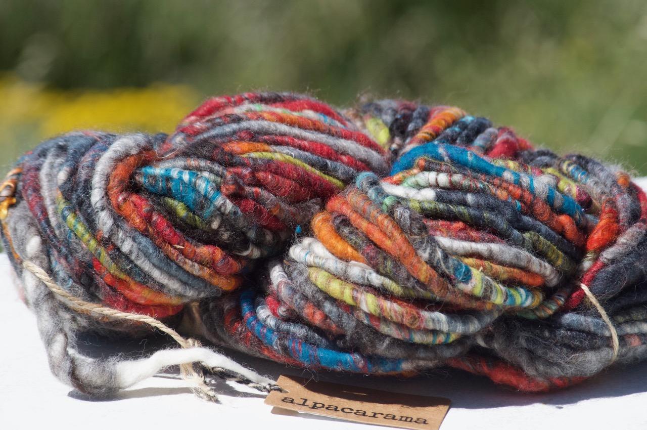 Chunky Yarn – Multi-colour brights