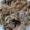 Raw Suri Fleece – Fine Light Brown/Grey Spots