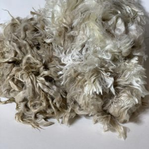 Raw Suri Fleece – Long White
