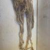 Raw Suri Fleece – White Fine 35 cm