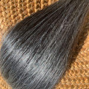 Raw Suri Fleece – Dark Grey Medium 24 cm