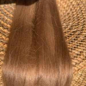 Raw Suri Fleece – Light Brown Fine 29 cm