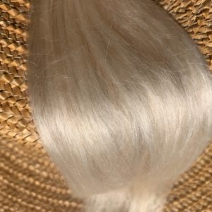 Raw Suri Fleece – Pale Blonde Baby Fine 27 cm