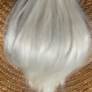 Raw Suri Fleece – White Medium 26 cm
